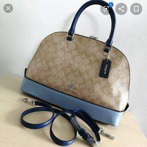 COACH signature sierra satchel.